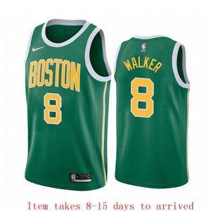 Boston Celtics Kemba Walker Earned Jersey